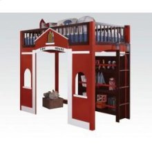 Fola Loft Bed W/bookcase