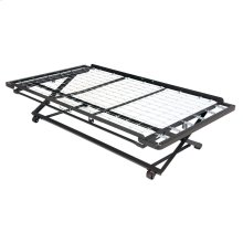 Pop-Up 39-Inch Link Spring Trundle Bed with Dual Gravity Locks, Twin