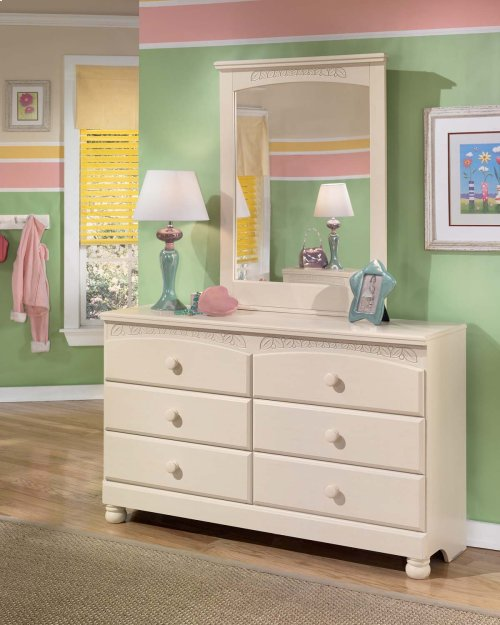 Cottage Retreat - Cream Cottage 2 Piece Bedroom Set