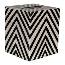 Kleenex Box Black and Cream ZEBRA.