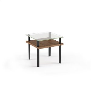 Bdi FurnitureEnd Table 1156 in Natural Walnut
