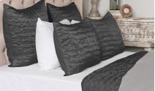 Aura Quilt Collection - Charcoal