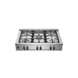 Bertazzoni36 Rangetop 5 Burners Stainless Steel
