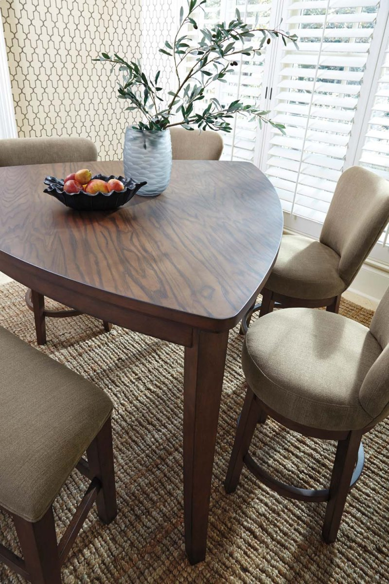 D64613 in by Ashley Furniture in Tucson, AZ - Triangle DRM Counter Table