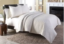 3 pc King Coverlet/Duvet Set Linen