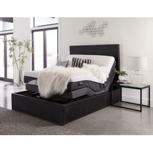 CoasterMontclair Casual Black Twin XL Adjustable Bed Base