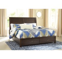 Darbry - Brown 3 Piece Bed Set (King) Product Image