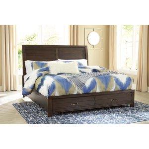 Ashley Furniture Darbry - Brown 3 Piece Bed Set (King)