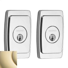 Lifetime Polished Brass Palm Springs Deadbolt