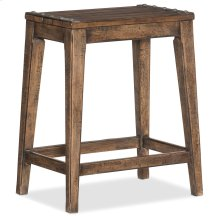 Dining Room Hill Country Medina Lake Backless Counter Stool