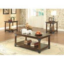 Craftsman Brown Three-piece Set