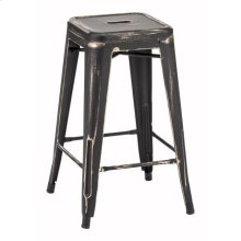 Marius Counter Stool Antique Black Gold