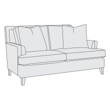 Addison Loveseat in Mocha (751)