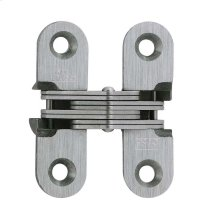 Model 203SS Stainless Steel Invisible Hinge Satin Stainless Steel