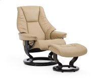 Stressless Live Small Classic Base Chair and Ottoman Product Image