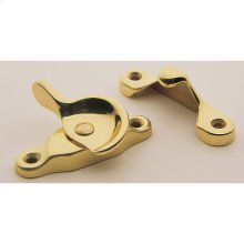 Lifetime Polished Brass Sash Lock