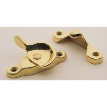 Lifetime Polished Brass Sash Lock