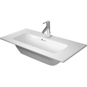 Me By Starck Furniture Washbasin Compact 1 Faucet Hole Punched