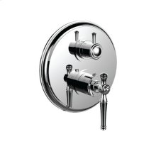 """7099kl-tm - 1/2"""" Thermostatic Trim With Volume Control and 3-way Diverter in Polished Chrome"""
