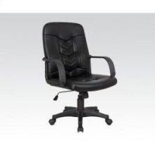 Black Pu Office Chair