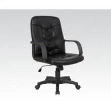 Black Pu Office Chair