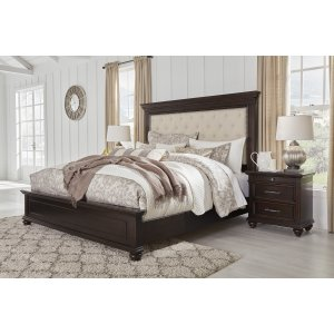 Ashley Furniture King/cal King Uph Panel Hdbd