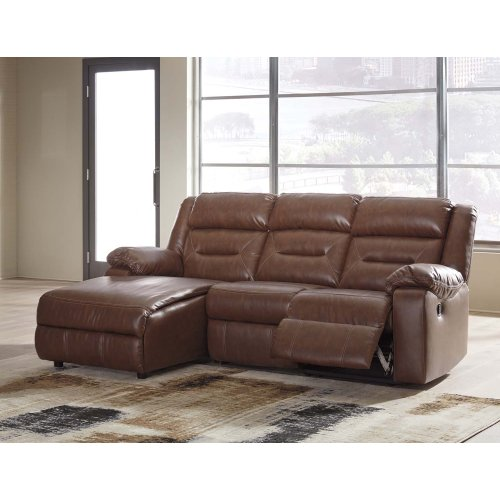 Coahoma - Chestnut 3 Piece Sectional