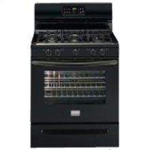 Black 30 Inch Gas Range
