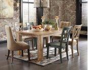 Mestler - Multi 7 Piece Dining Room Set