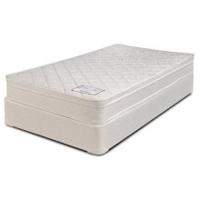 "Ideal Collection - Fairfax - Pure - 8"" Box Top - Queen"