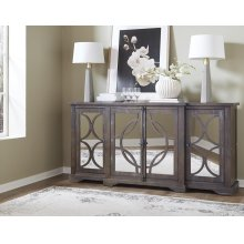 """79"""" Taupe Console"""