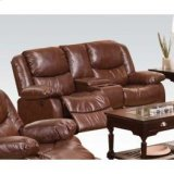 Brown Loveseat , Console Product Image