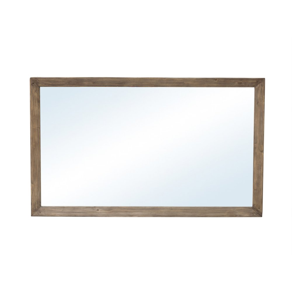 Post & Rail Mirror-rstc Sund Ash