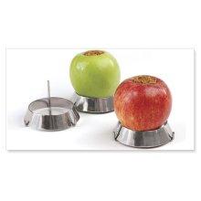 "RINGS3- Set of 3 Stainless Steel Grilling Rings (3"" / 8cm)"