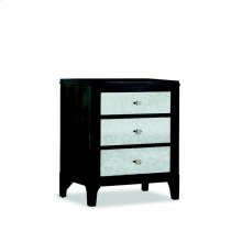 Night Stand W/Mirror Dwr Fronts