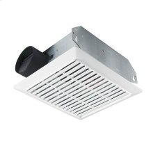 70 CFM Bath Ventilation Fan with White Grille