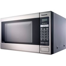 REFURBISHED Family-Size 1.2 cu. ft. Microwave Oven with Inverter Technology, Stainless NN-SA651S-RF