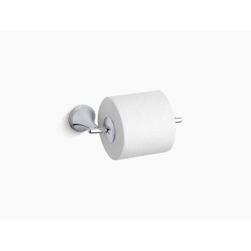 Vibrant Brushed Nickel Toilet Tissue Holder