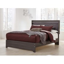 Annikus - Gray 3 Piece Bed Set (Queen)