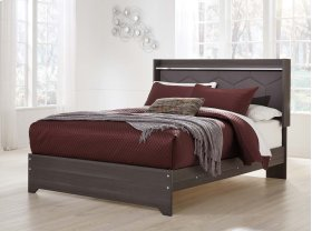 Annikus - Gray 3 Piece Bed Set (Queen)