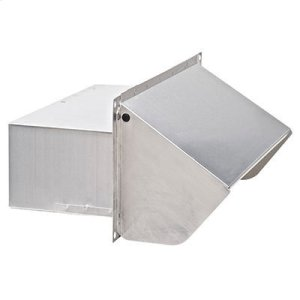 "Wall Cap for 3-1/4"" x 10"" Duct for Range Hoods and Bath Ventilation Fans"