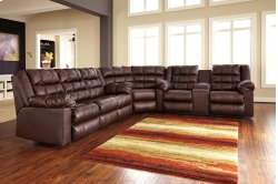 Brolayne - Saddle 3 Piece Sectional