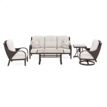 Marsh Creek - Brown 5 Piece Patio Set