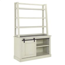 Home Office Tall Desk Hutch