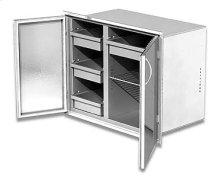 "High body, 30"" width Dry Storage Pantry"