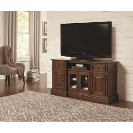 60 Inch Console - Cherry Finish