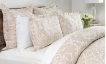 Lido Jacquard Natural Queen Duvet 92x90