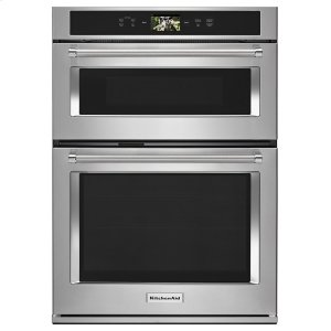 "KitchenaidSmart Oven+ 30"" Combination Oven with Powered Attachments Stainless Steel"