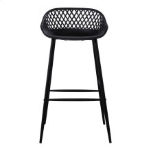 Piazza Outdoor Barstool Black-m2