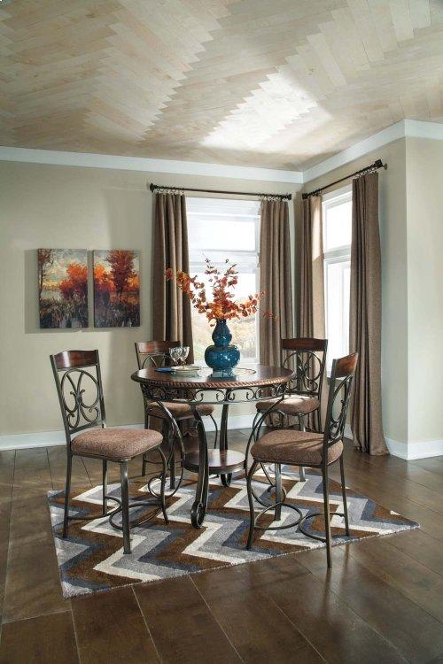 Glambrey - Brown 4 Piece Dining Room Set